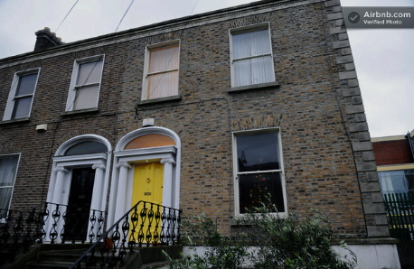 Where I'll be staying in Dublin